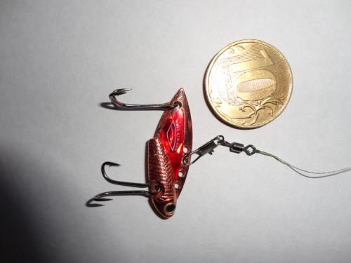 ловля на блесну цикада видео