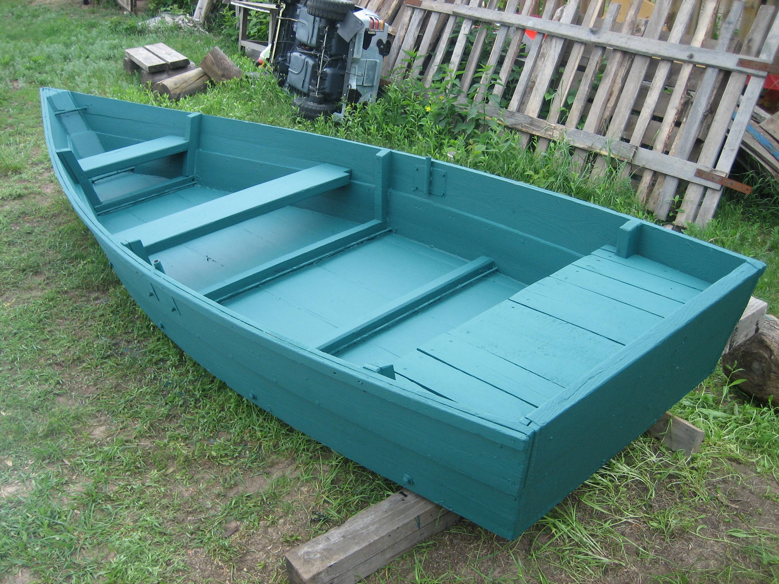 чем покрасить деревянную лодку чтобы не гнила
